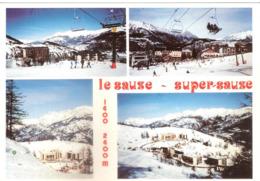 CPSM LE SAUZE - SUPER SAUZE STATION HIVER ETE - Other Municipalities