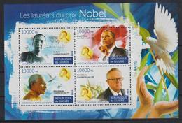 H309. Guinea - MNH - 2015 - Famous People - Nobel Prize - Celebridades