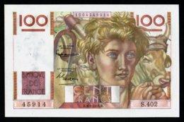 100F Jeune Paysan  06.09.1951 - S 402 - SPL - Fay : 28.29 - 1871-1952 Antichi Franchi Circolanti Nel XX Secolo