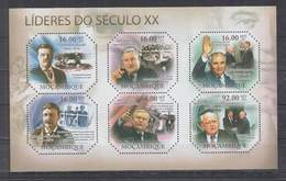 A310. Mozambique - MNH - 2011 - Famous People - Presidents - Celebridades
