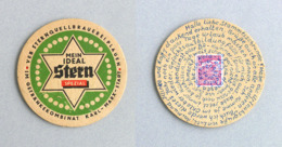 Sous-bock Stern Bière BrauereiKarl Marx Stadt, DDR Timbre 1973 Beer Mat Bierdeckel Coaster - Sous-bocks