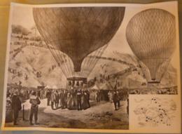 Photo Pédagogique SCOLATHEQUE : 1870 - Siège De PARIS - GAMBETTA En Montgolfière. - Fotos