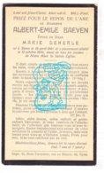 DP Albert Emile Baeyen ° Ieper 1861 † 1934 X Marie Dekerle - Imágenes Religiosas