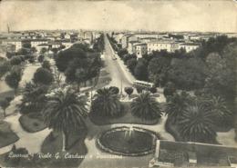 Livorno (Toscana) Viale G. Carducci E Giardini, G. Carducci Avenue And The Gardens - Livorno
