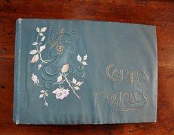 Ancien Album Vide CPA Cartes Postales Photos Ancien 37 Cm X 27 Cm - Matériel