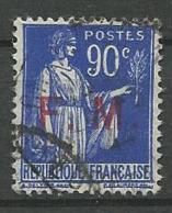 TIMBRE DE FRANCHISE 1939  - N° 9  Oblitere - Franchise Militaire (timbres)