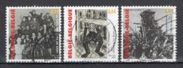BELGIE: COB 3392/3394 Gestempeld. - Belgique