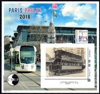 "Bloc CNEP ""Salon Philatélique Paris-Philex 2018"" Paris 2018 - CNEP"