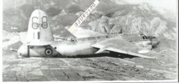 PHOTO AVION MARTIN  B26 C 45 N°2107831 DU GBM  1/19 CASCOGNE EN VOL AU DESSUS DES ALPES EN 1944 RETIRAGE 17X8CM - Aviation