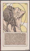 Alfred D'Hoe Willems Kobbegem Ternat Gemeenteraadslid Illustrateur Jos Jozef Speybrouck Doodsprentje Image Mortuaire - Imágenes Religiosas