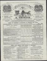 Tarif A Thirion Pompe à Incendie Et Matériel Sapeurs Pompiers Mai 1905 Superbe Entête - 1900 – 1949