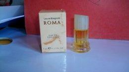 """Miniature De Parfum Laura Biagiotti  """" Roma  """" Eau De Toilette - Miniatures Femmes (avec Boite)"""