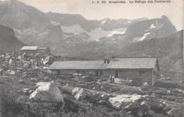 ANZEINDAZ - LE REFUGE DES DIABIERATS ~ AN OLD POSTCARD #99835 - VD Vaud