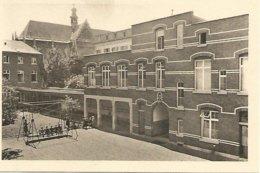 Antieke Cpa.-Liege Soeurs De La Miséricorde Reu Des Clarisses 53  Liége.- Cour De Récréation 1924. - Liege