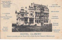 BREDENE / HOTEL GILBERT  1911 - Bredene
