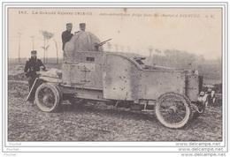 La Grande Guerre 1914 - 15.- Auto Mitrailleuse Belge Dans Les Champs à Dixmude - Equipment