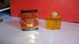 """Miniature De Parfum Yves Saint Laurent """" Opium  """" Eau De Toilette - Miniatures Femmes (avec Boite)"""