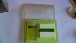 """Miniature De Parfum Lancome    """" O   """" Eau De Toilette Et Savon Boite Abimée - Miniatures Femmes (avec Boite)"""