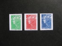 TB Série N° 4239 Au N° 4241 , N° Noir Au Verso, Neufs XX. - Neufs