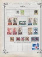 Afrique Colonies Françaises Collection Ancienne Sur Charnière - Timbres Oblitérés/neufs * B/TB - 31 Scans - Africa (Other)