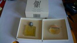 """Miniature De Parfum Cerruti  """" 1881 Homme Et Femme  """" - Miniatures Femmes (avec Boite)"""