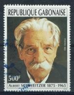 Gabon, Albert Schweitzer, Nobel Peace Prize, 1993, VFU - Gabon