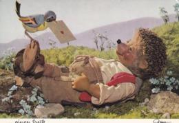MECKI Recevant Du Courrier Par Un Oiseau - Mecki