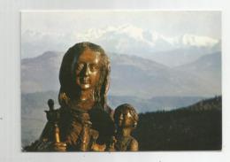 74  Notre Dame Des Voirons Art Ancien De Savoie Le Plus Vieux Sanctuaire En Haute Savoie Face Au Mont Blanc Carte Double - France