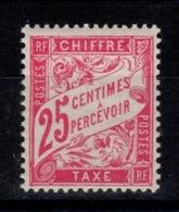 Taxe YV 32 N* (infime Trace) Cote 7,50 Euros - 1859-1955 Neufs