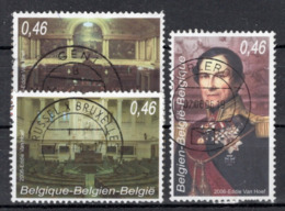 BELGIE: COB 3491/3493 Gestempeld. - Gebraucht