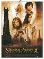 Fiche, Film, Affiche (2002) : LE SEIGNEUR DES ANNEAUX, LES DEUX TOURS, Peter Jackson, Viggo Mortensenl, Coupure Revue - Fiches Illustrées
