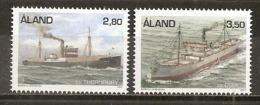 Aland 1994 Bateaux Ships MNH ** - Aland