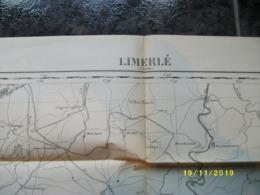 Carte Topographique De Limerlé (Clermont - Renglez - Hachiville - Eschfeld - Runnelange - Clervaux - Olmscheid) - Cartes Topographiques