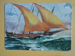Kal 4- CALENDAR -SHIP, NAVIRE, BATEAU, PORTUGAL-1986 - Calendriers