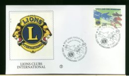 ITALIA - FDC 2017 -  ROMA  -  LIONS CLUBS INTERNATIONAL  -  CENTENARIO FONDAZIONE - 6. 1946-.. Republic