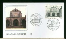 ITALIA - FDC 2017 -  ABBAZIA  DI  CASAMARI - 6. 1946-.. Republic