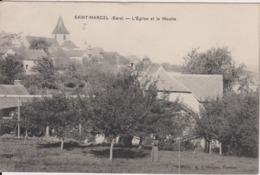 769... Saint-Marcel (Eure), L'Eglise Et Le Moulin - France (27) - Andere Gemeenten