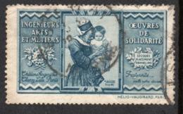 VIGNETTE INGENIEURS ARTS ET METIERS - OEUVRES DE SOLIDARITE - Commemorative Labels