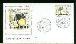 ITALIA - FDC 2017 -  GIORNATA DELLA FILATELIA - 6. 1946-.. Republic