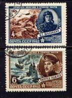 RUSSIE - 2498/2499° - HEROS DE L'UNION SOVIETIQUE - 1923-1991 USSR