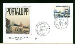 ITALIA - FDC 2017 -  PIERO  PORTALUPPI - 6. 1946-.. Republic