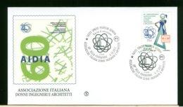 ITALIA - FDC 2017 -  AIDIA - ASSOCIAZIONE ITALIANA DONNE INGEGNERI E ARCHITETTI - 6. 1946-.. Republic