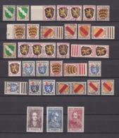 Franz. Zone - 1945/46 - Michel Nr. 1/13  - Postfrisch/Gest. - French Zone