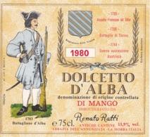 2 Etichette - Barbera E Dolcetto D'Alba - Renato Ratti, La Morra - Etiketten