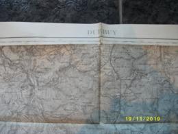 Carte Topographique De Durbuy (Barvaux - Harre - Odeigne - Dochamps - Marcourt - Rendeux) - Cartes Topographiques