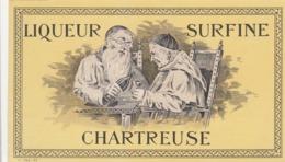 Liqueur Surfine Chartreuse - Etiketten
