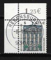 BUND Mi-Nr. 2374 Linkes, Oberes Eckandstück Residenzschloss, Arolsen Gestempelt REGENSBURG - BRD