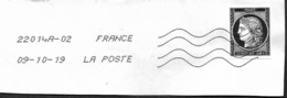 FRANCE  2019  - Cérès    - Oblitéré - France