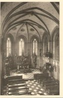 Antieke Cpa.-Liege Soeurs De La Miséricorde Reu Des Clarisses 53  Liége. 1924. Chapelle - Liege