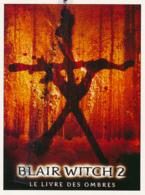 Fiche, Film, Affiche (2000) : BLAIR WITCH 2, LE LIVRE DES OMBRES, Joe Berlinger, Jeffrey Donovan, Coupure Revue - Fiches Illustrées